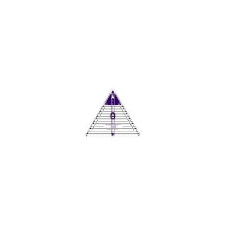 Règle triangle 60° petite
