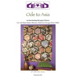 Livret Ode To Asia - Hexagones Entrelacés