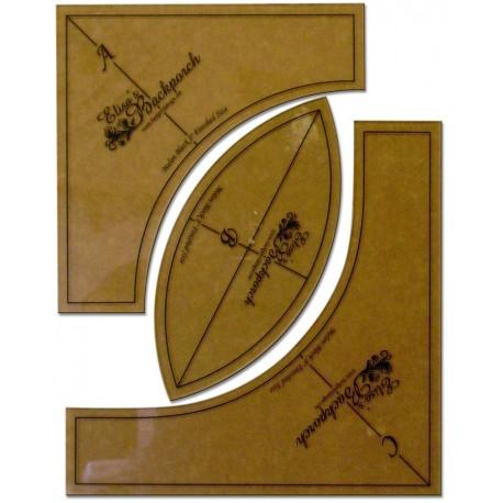 Gabarits Cercle Pas de l'Ivrogne 4 inch