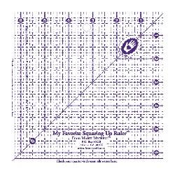 Règle carrée 6,5 x 6,5 inch Marti Michell