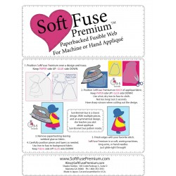 Soft Fuse feuilles thermocollantes