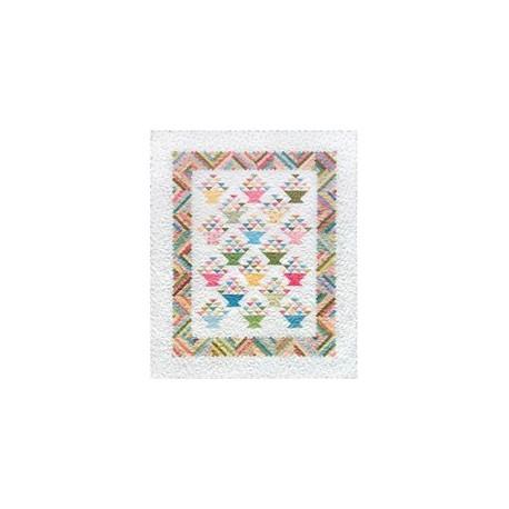 Livret Rachel's Basket Quilt Pattern