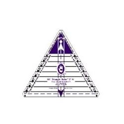 Règle triangle 60° grande
