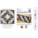 Règle Log Cabin Layer Cake