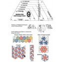 Demi Hexagone Multi Tailles - Famille 60°