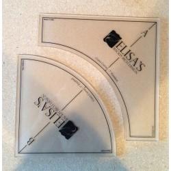 Gabarits Cercle Pas de l'Ivrogne 7 inch